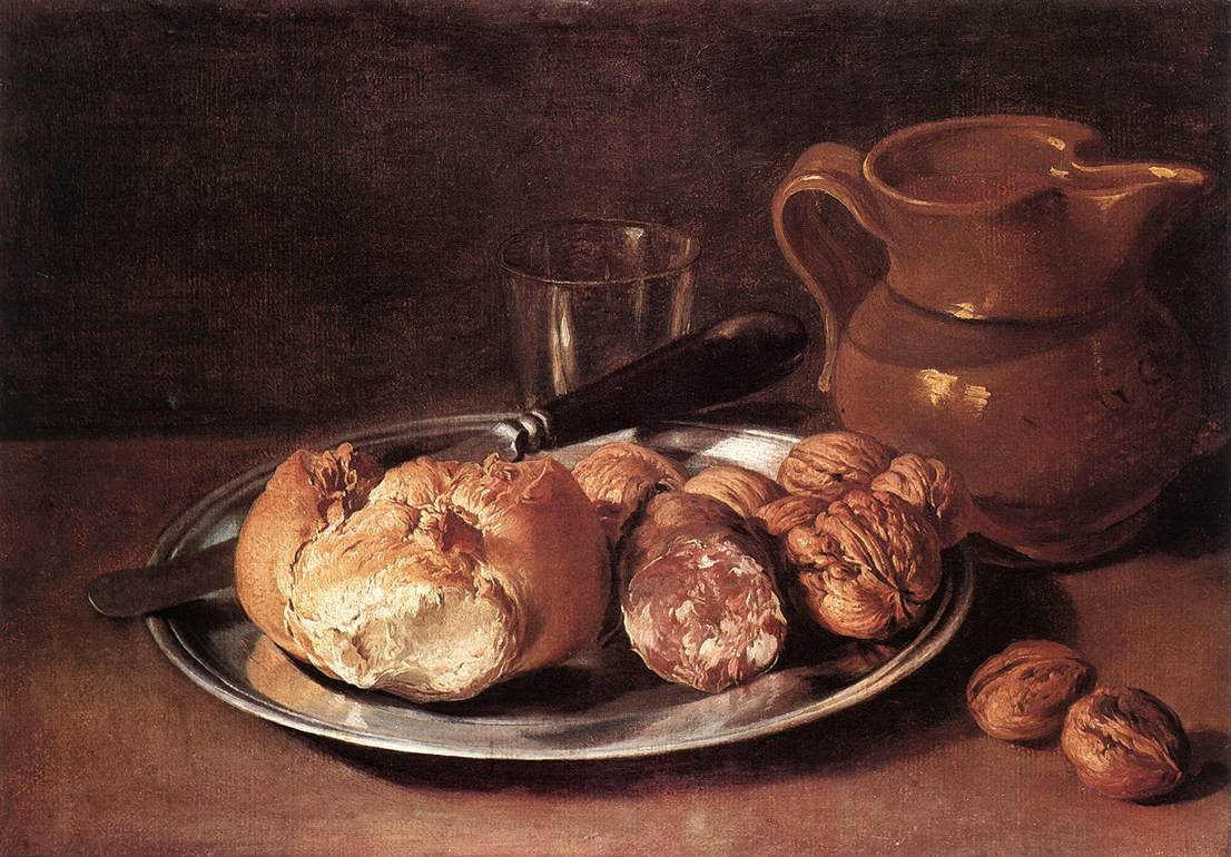 Still-Life. Bread and Pitcher
